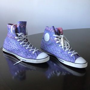 Missoni by converse 9.5M multicolored chuck Taylor